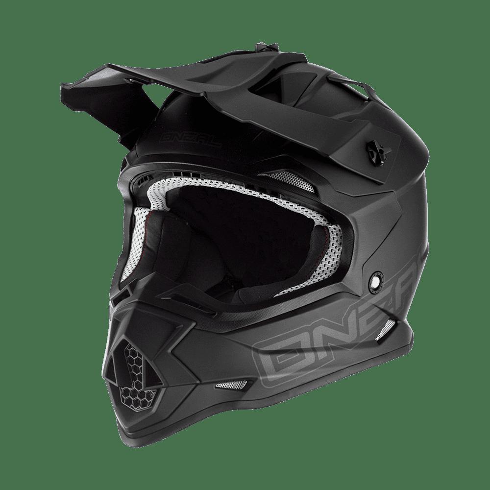 Oneal 2SRS Youth Helmet FLAT black M (51/52 cm)