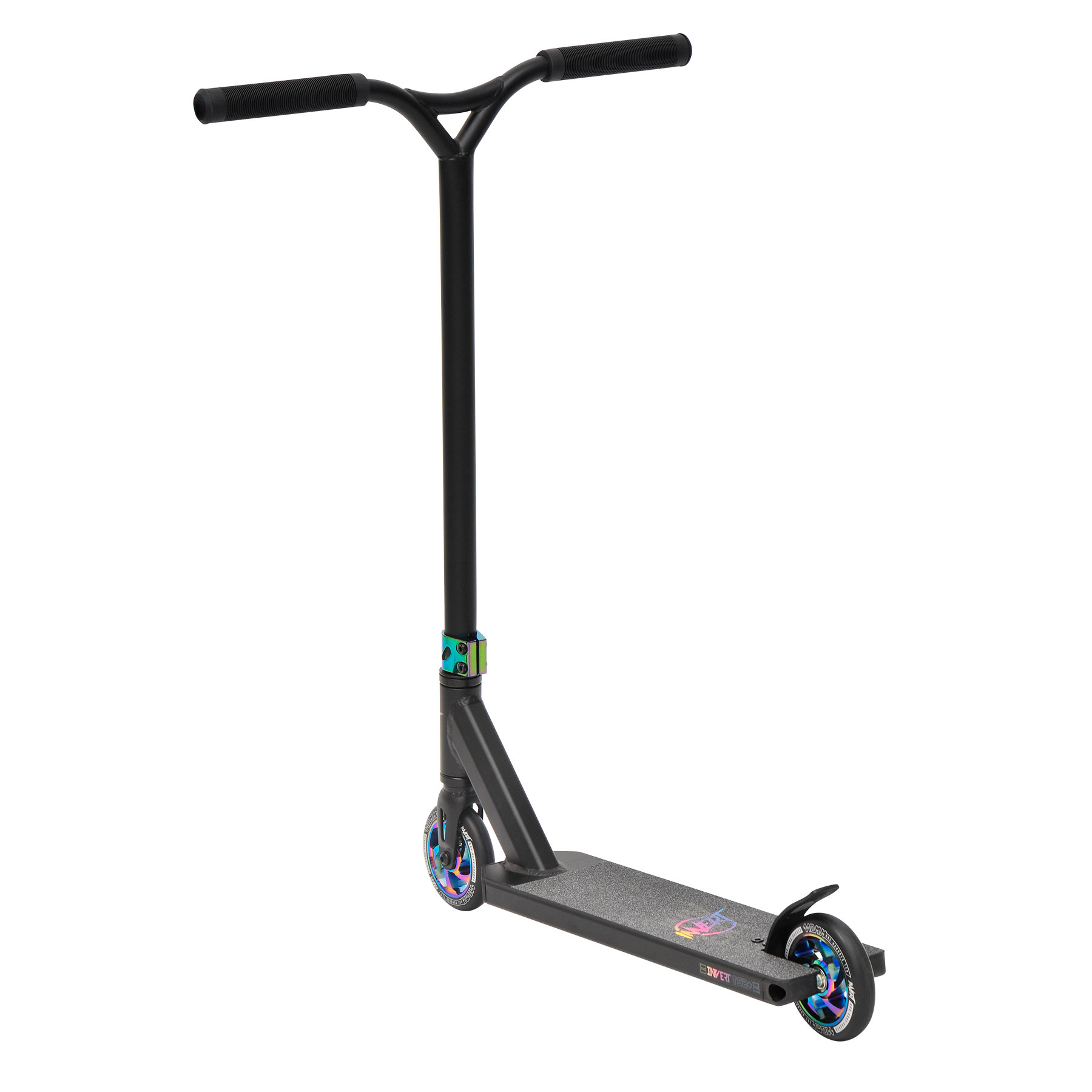 Invert Stunt Scooter V2-TS2+ Black Neo chrome