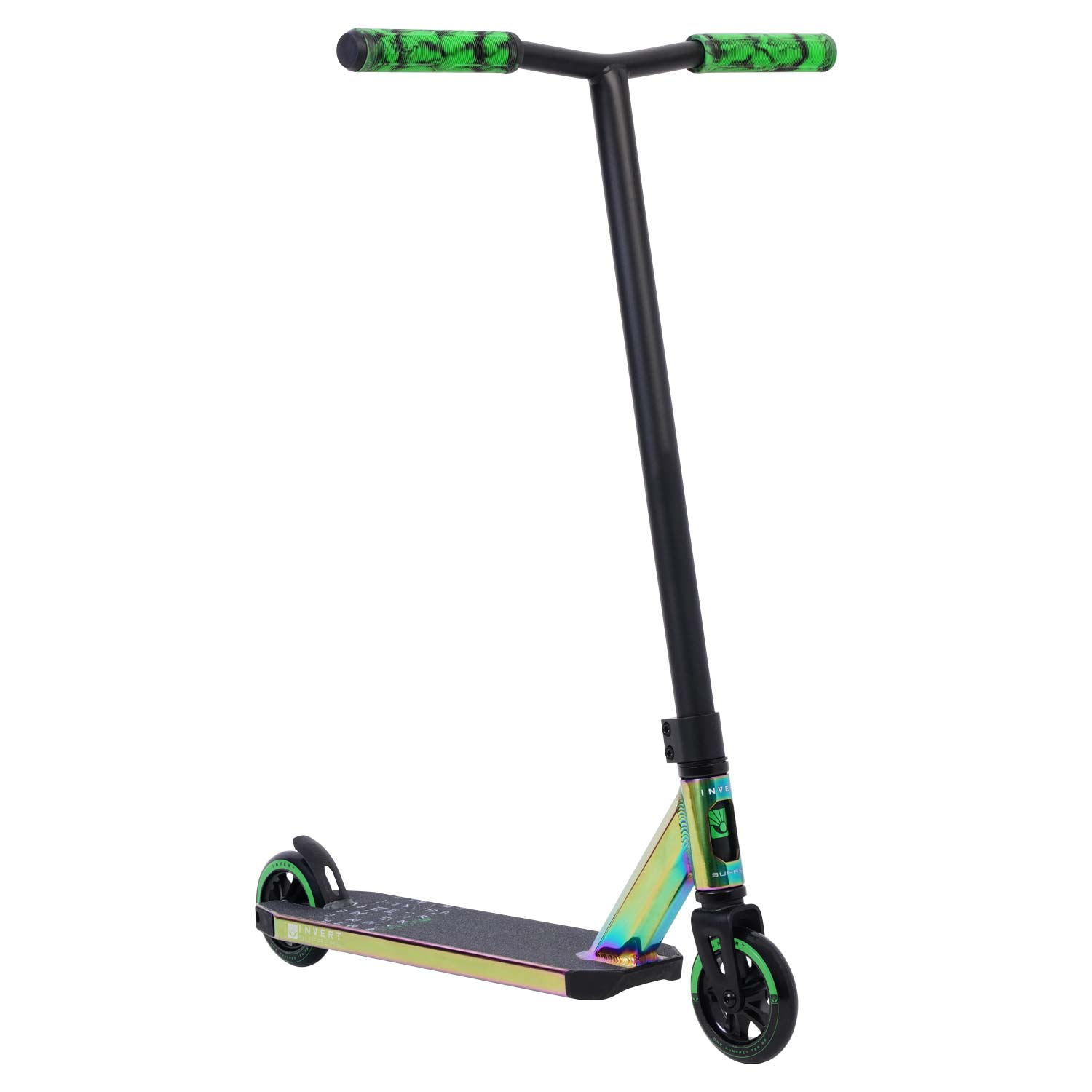 Invert Supreme 2-8-13 Scooter - Neo Green/Black