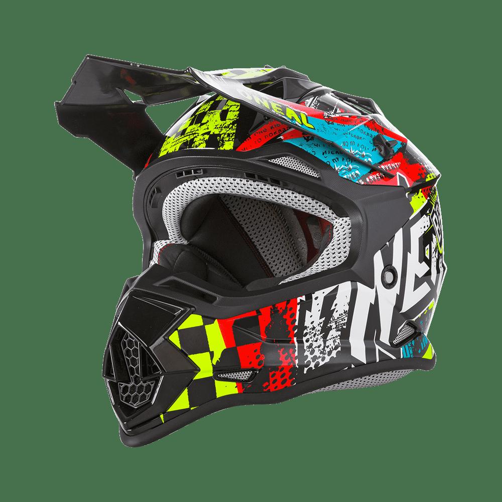 Oneal 2SRS Youth Helmet WILD multi L (53/54 cm)
