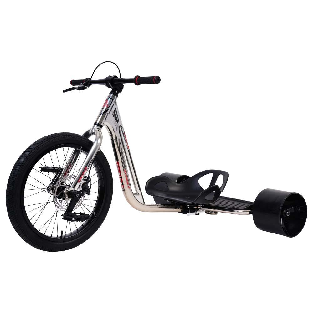 Triad Drift Trike Notorious 4 chrome black