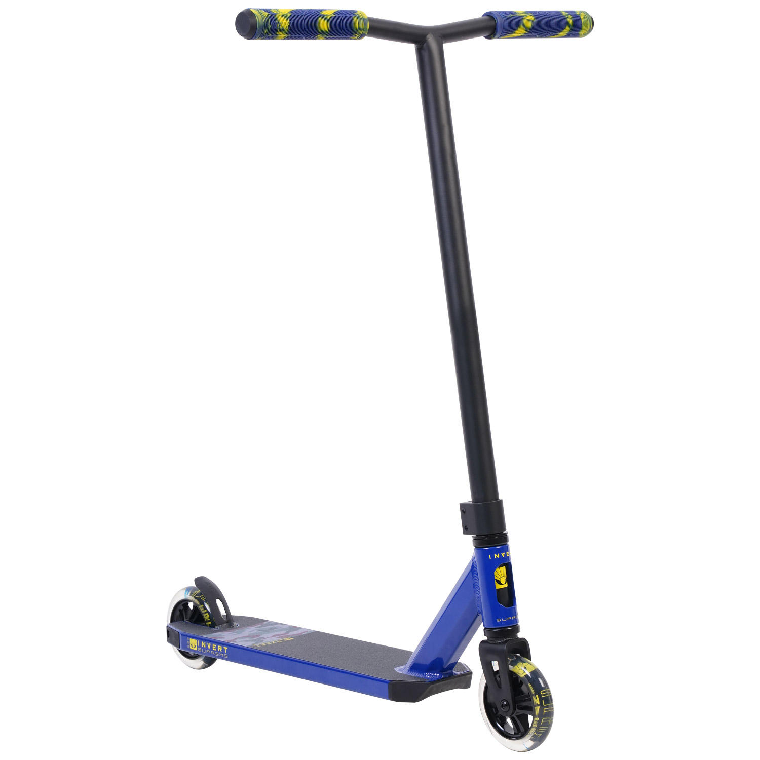 Invert Supreme 2-8-13 Scooter - Blue/Yellow