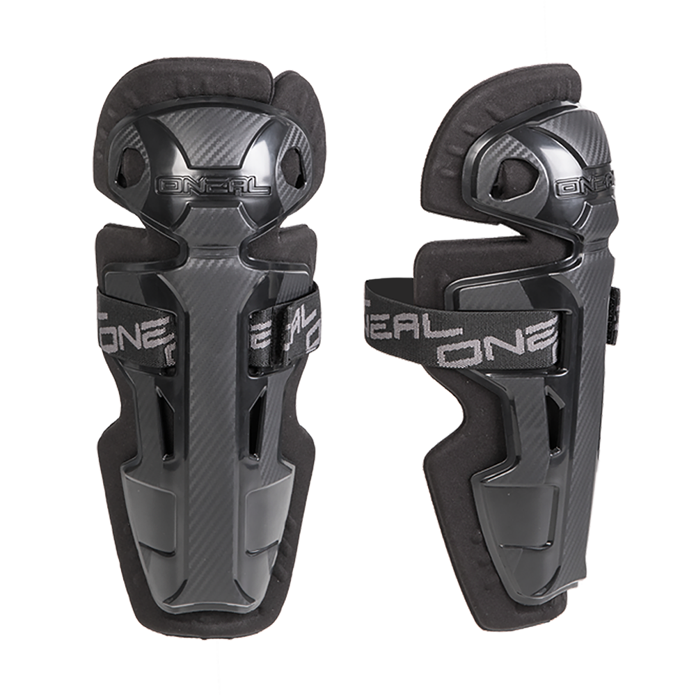 Oneal PRO II RL Carbon Look Knee Cups Youth black