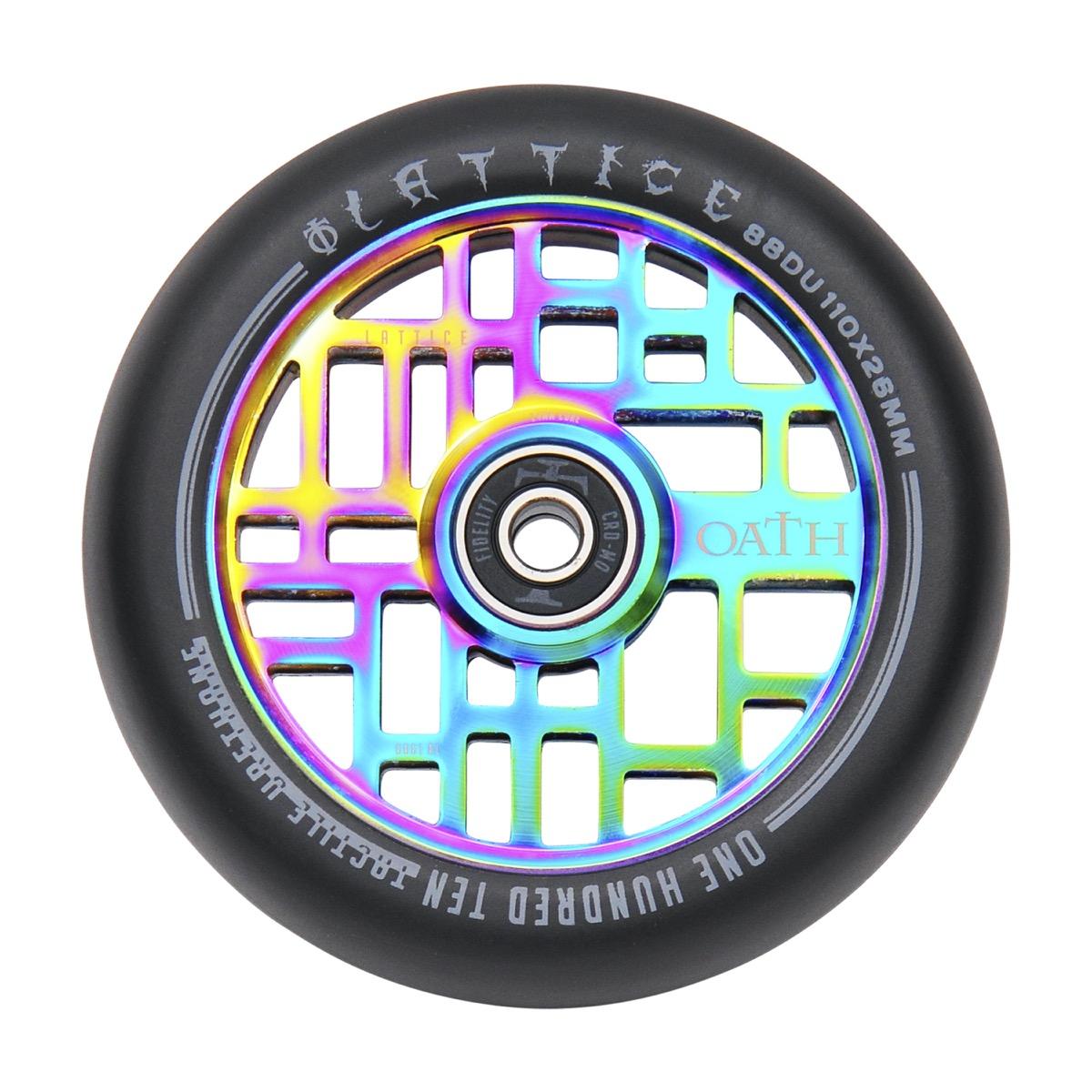 Oath Lattice 110mm Stunt Scooter Wheels