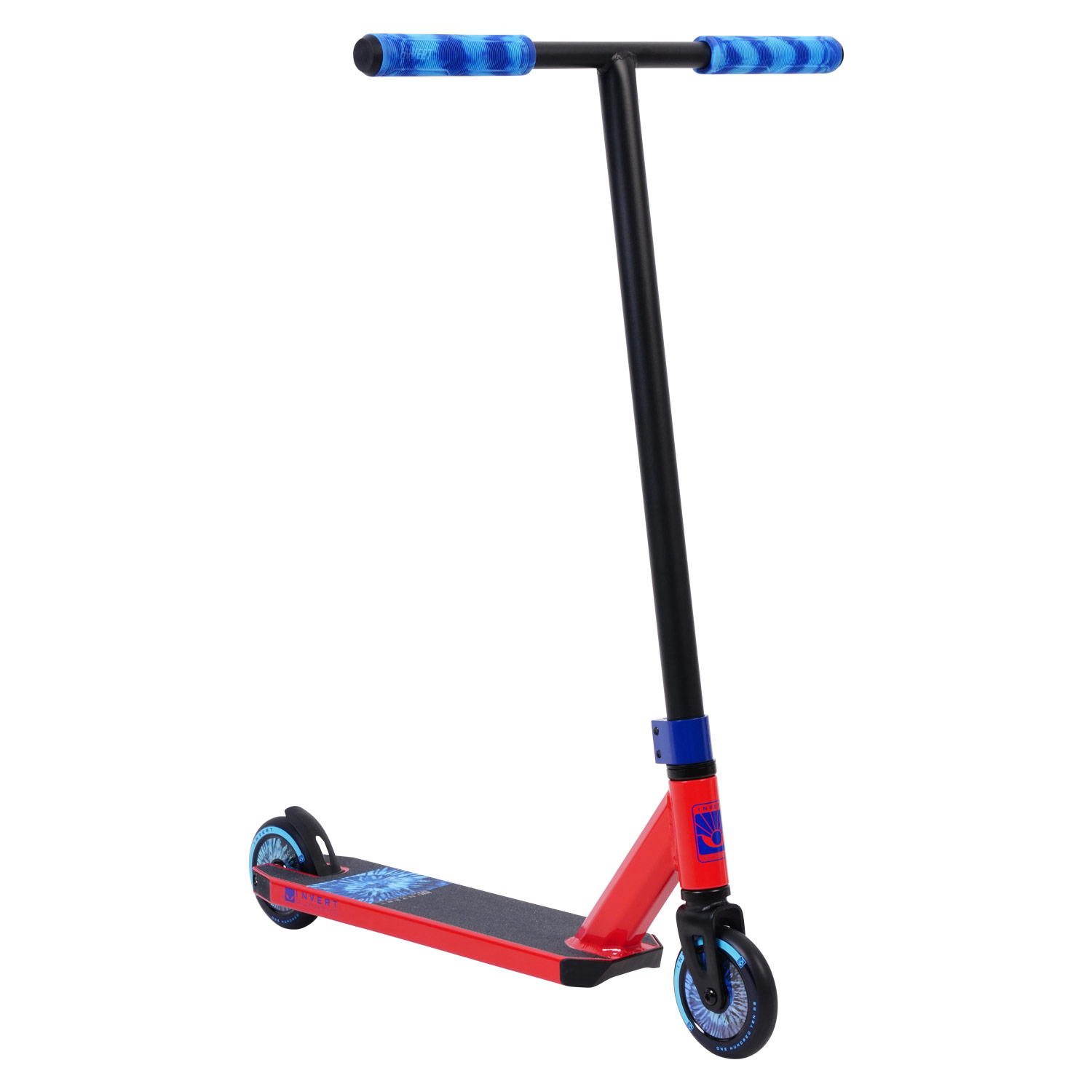 Invert Supreme 1-7-12 Scooter - Red/Black/Blue