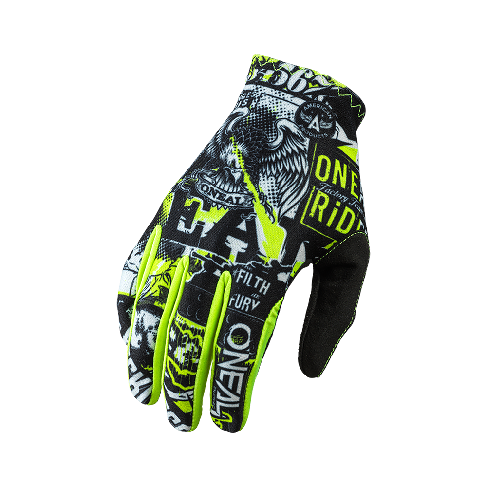 Oneal MATRIX Glove ATTACK black/neon yellow M/8,5