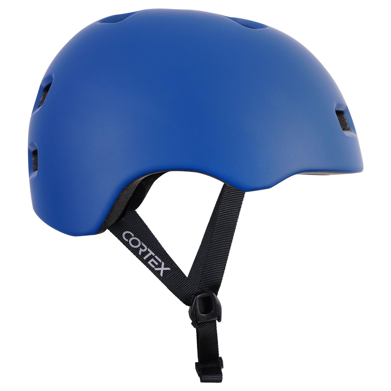 Cortex Multi Sport Helm in matt Blau