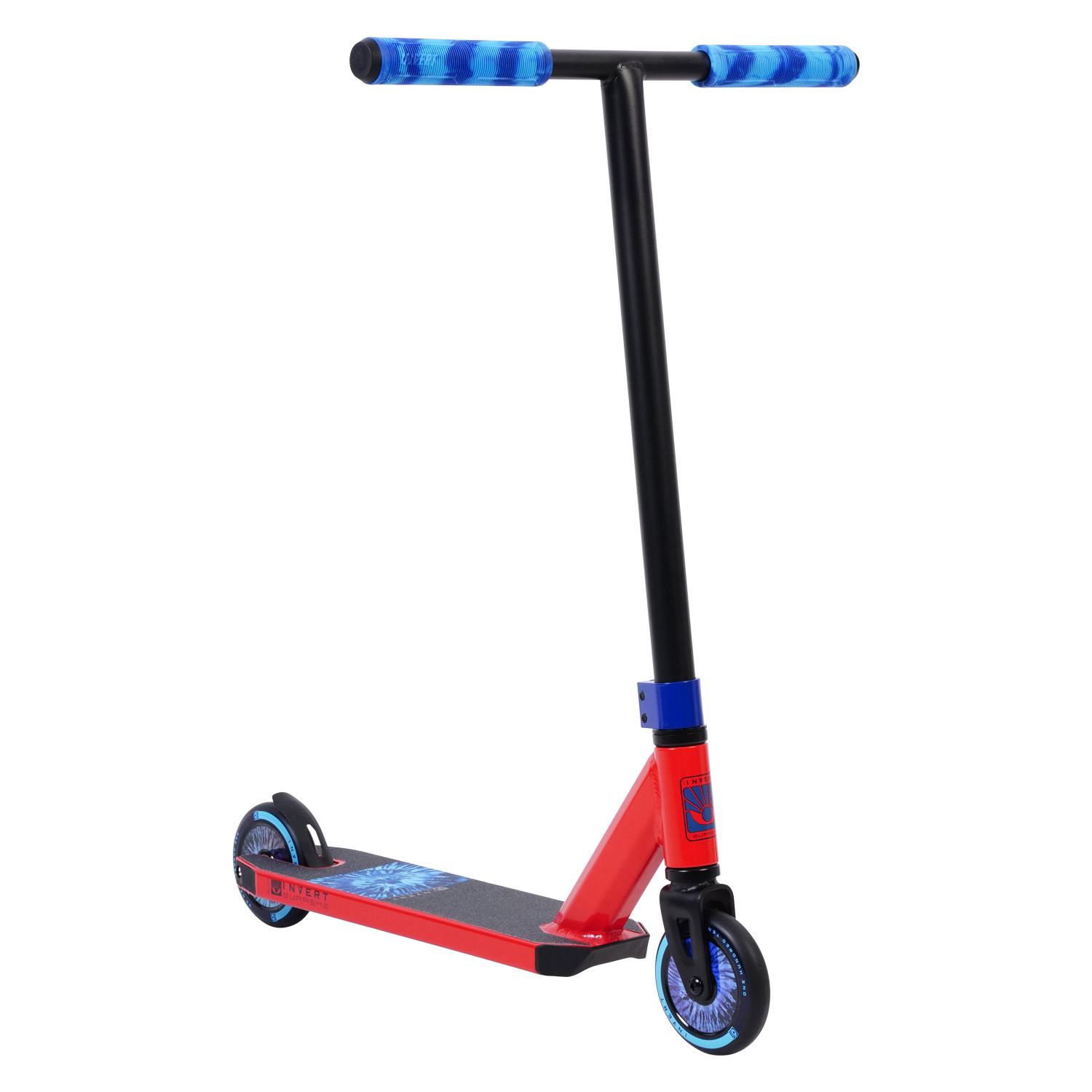 Invert Supreme Mini 1-4-8 Scooter - Red/Black/Blue