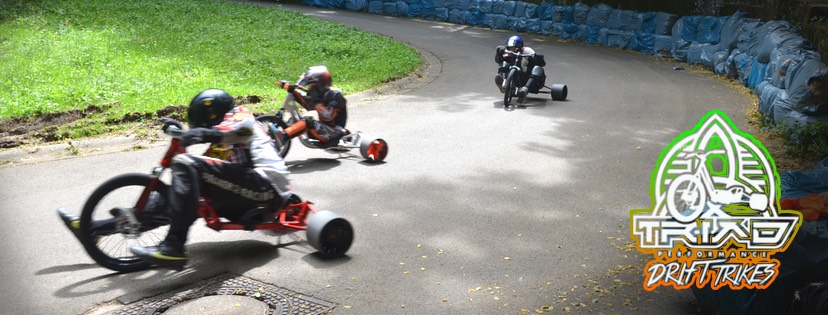 Triad Drift Trikes Downhill Race