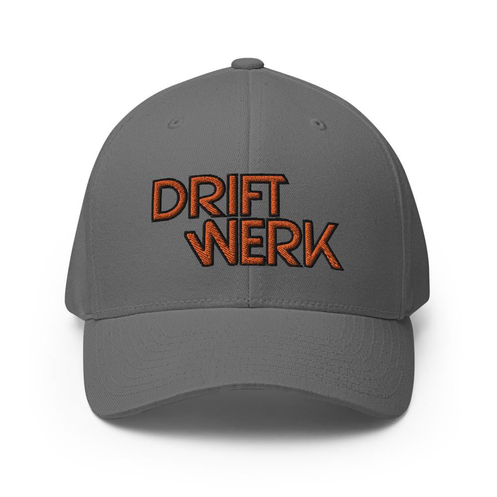 Driftwerk Baseball Cap Flexfit - Grey / L/XL