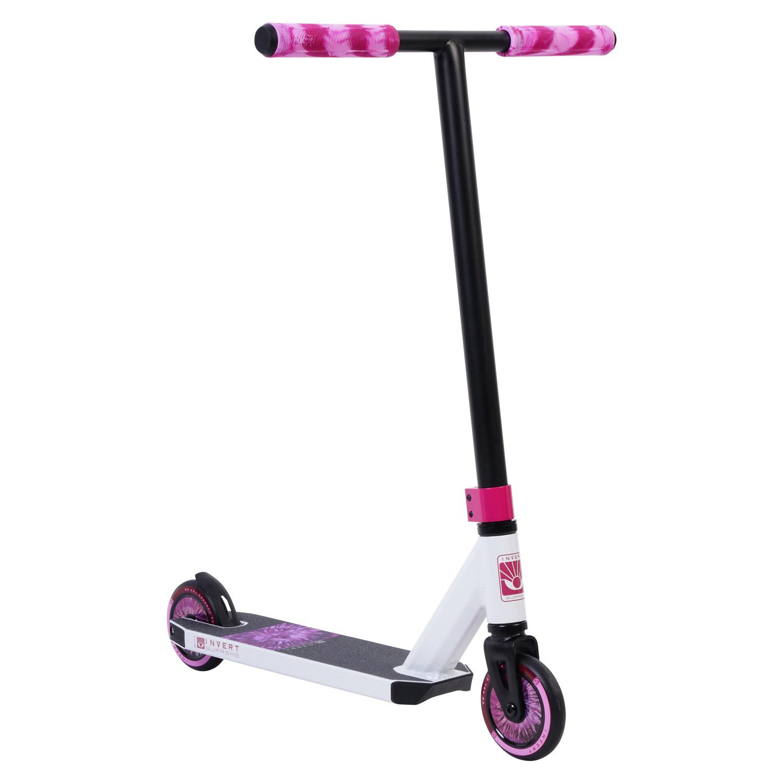 Invert Supreme Mini 1-4-8 Scooter - White/Black/Pink