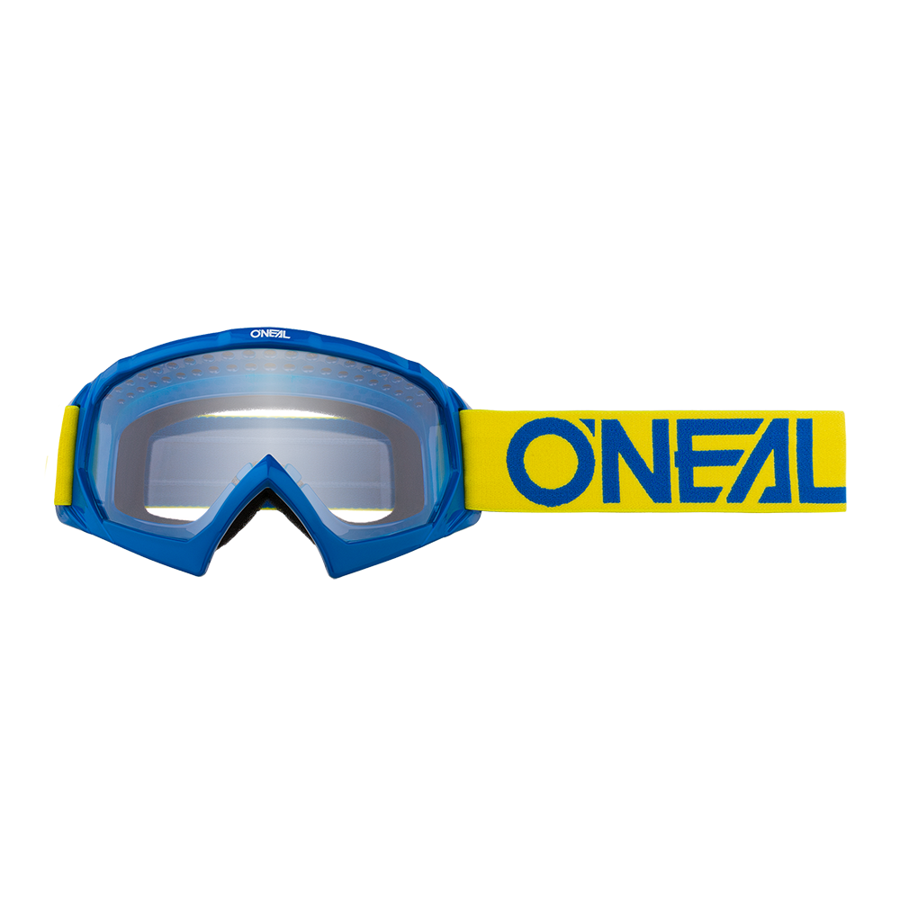 Oneal B-10 Youth Goggle SOLID yellow/blue