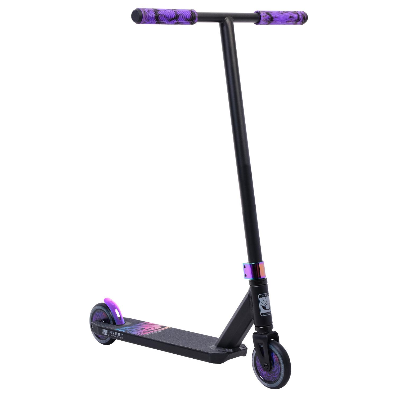 Invert Supreme 1-7-12 Scooter - Black/Neo Purple