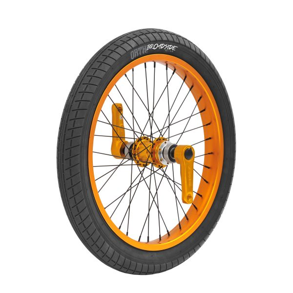TRIAD Dynasty 2 Vorderrad orange