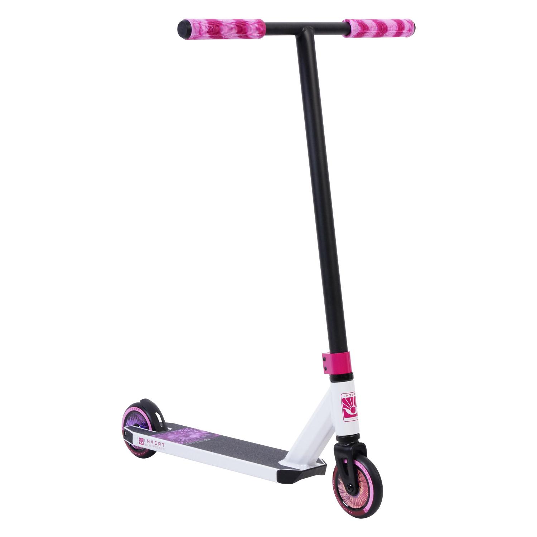 Invert Supreme 1-7-12 Scooter - White/Black/Pink