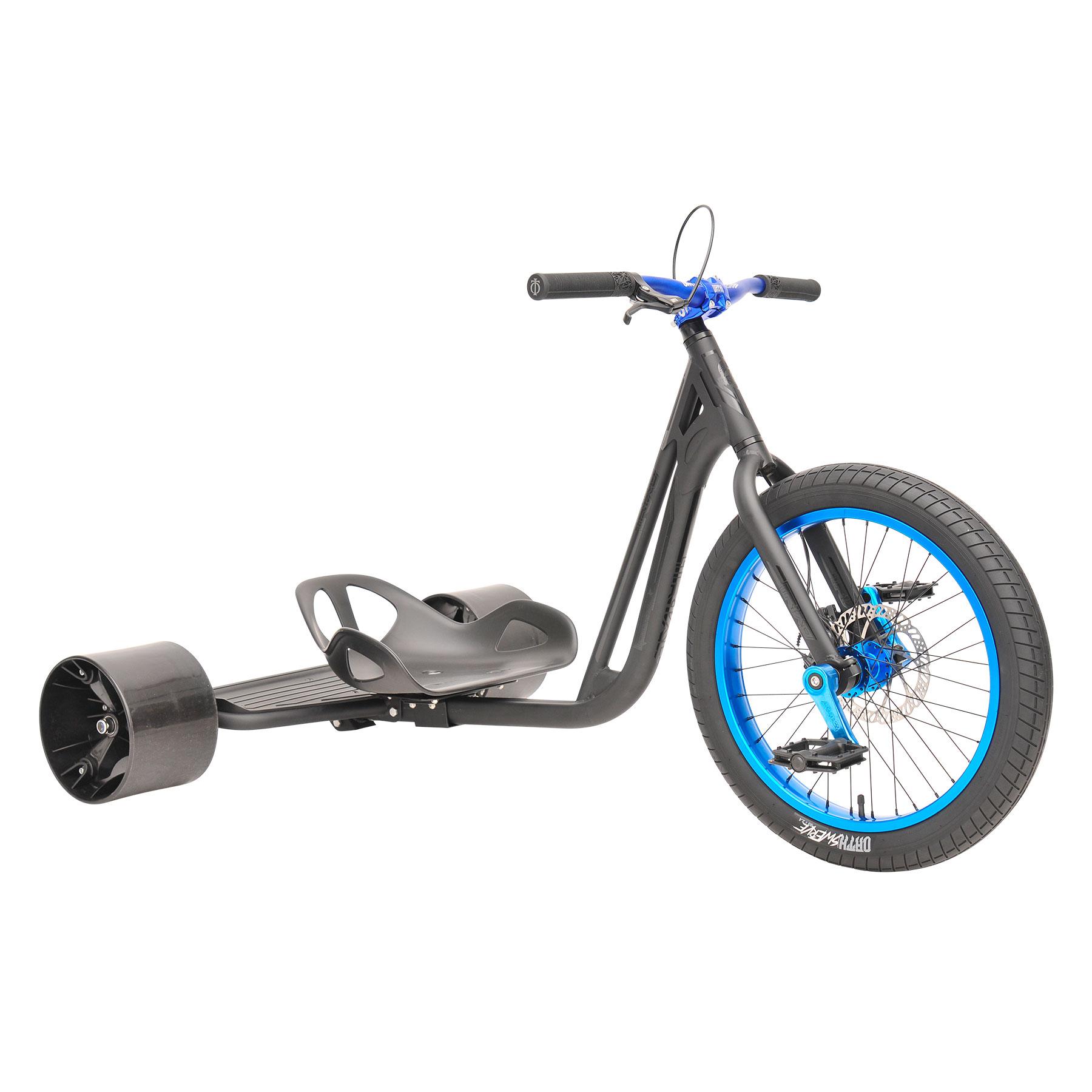 TRIAD  Notorious 4 Drift Trike matt schwarz/blau