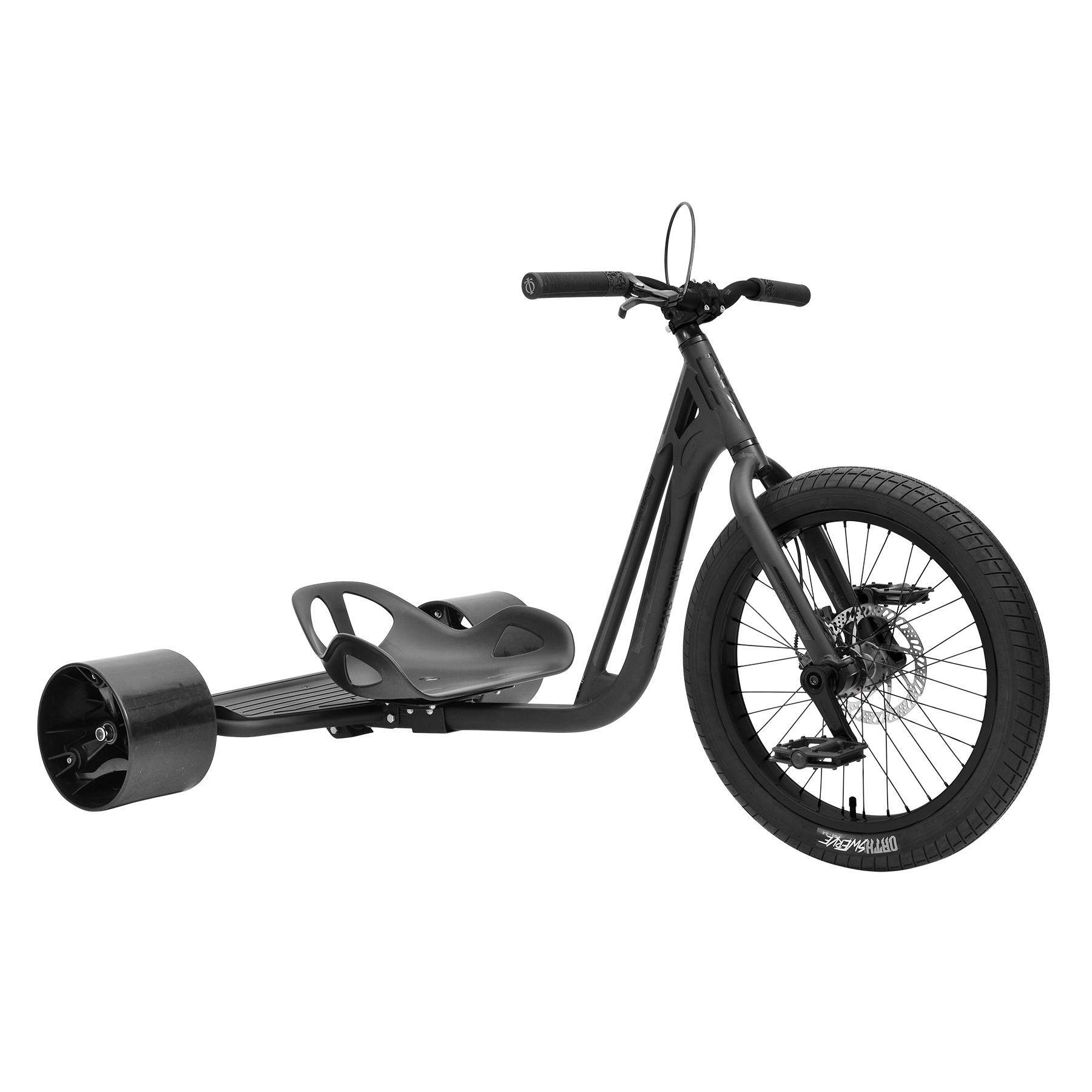 TRIAD  Notorious 4 Drift Trike matt schwarz