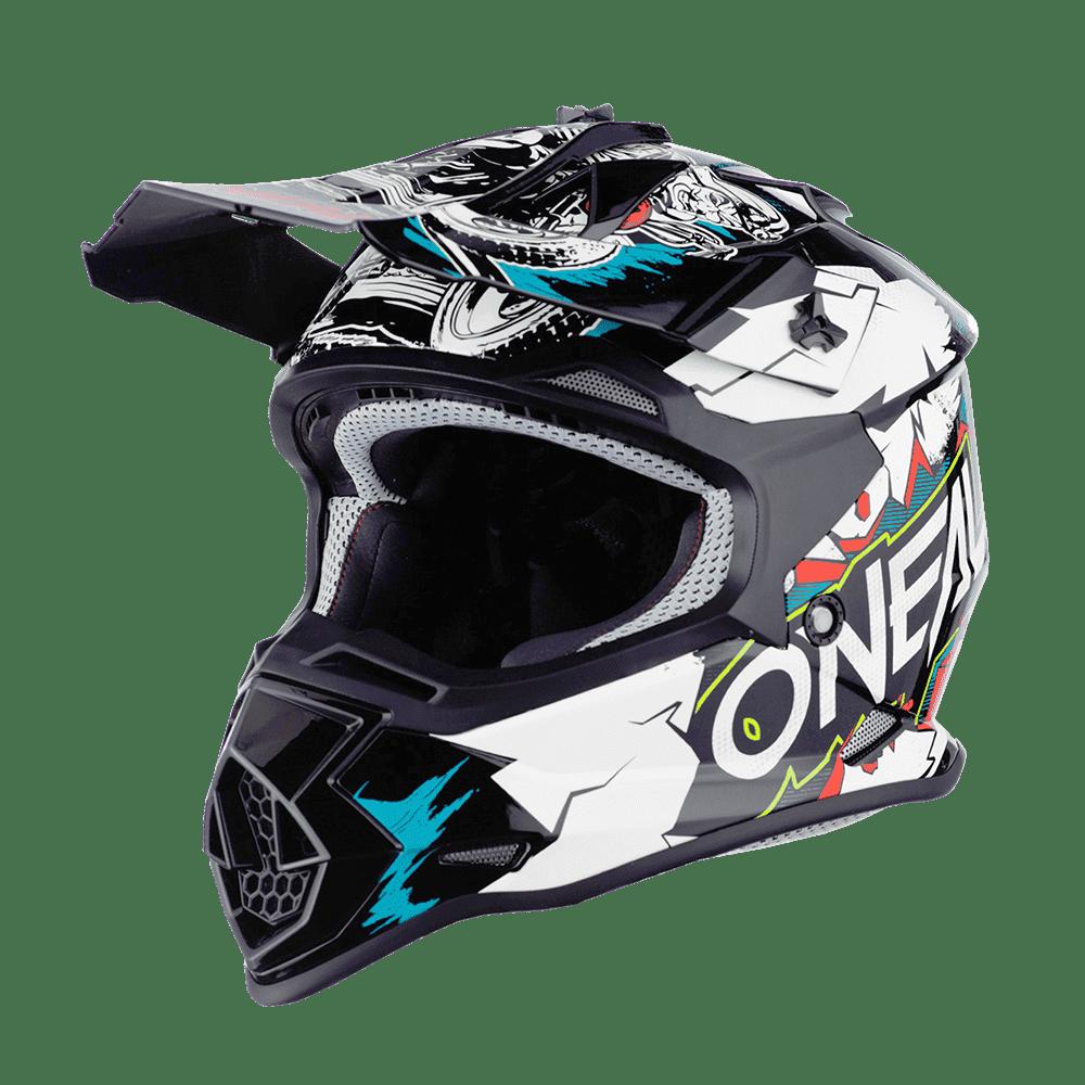 Oneal 2SRS Youth Helmet VILLAIN white M (51/52 cm)