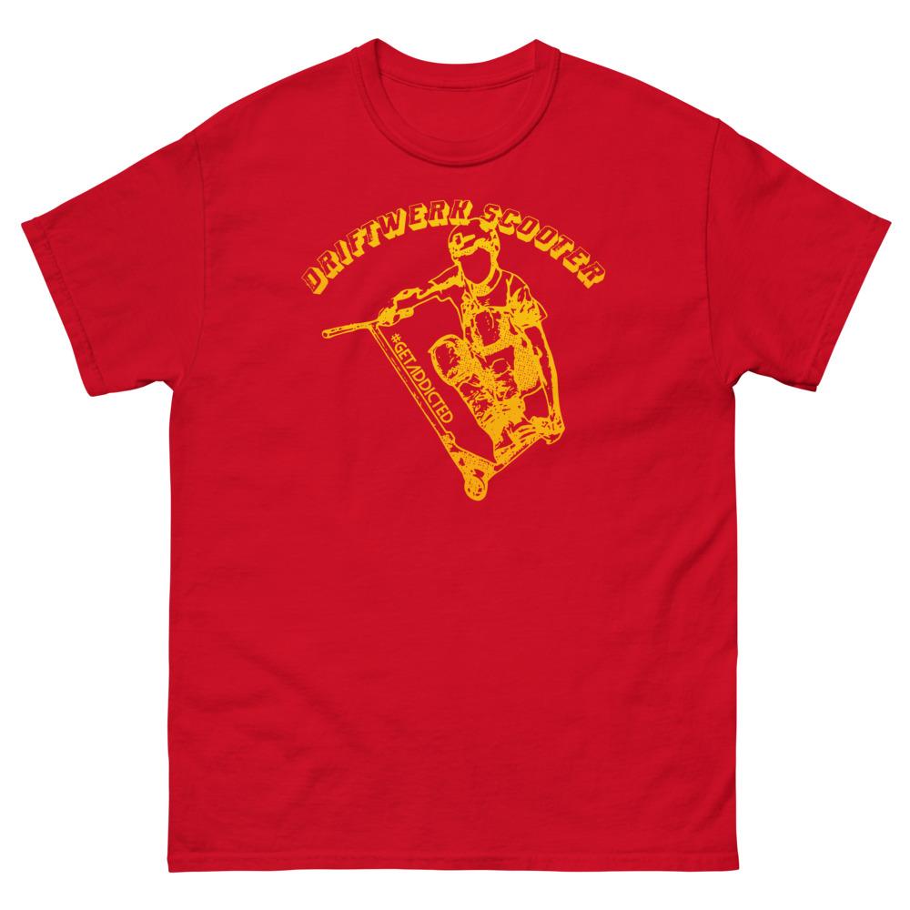 Driftwerk Scooter T-Shirt - Red / L